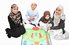 My Salah Mat is a new and innovative prayer mat because there are no other Muslim prayer mats available on the market that have been developed to specifically teach children to perform the Muslim prayer in this way. My Salah Mat includes touch sensit...