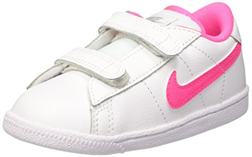Nike - Tennis Classic (TDV) - Chaussures Du Nouveau-Né, blanc / rosa / grey (blanc / pink pow-wolf grey), taille 23 1/2