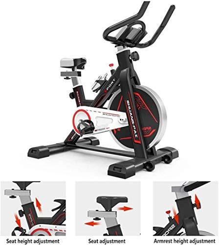 Ultrastille Indoor Spinning Bike 150KG Dragende Beweegbare Running Hometrainer Home Pedaal Indoor Sportuitrusting voor Thuis Training en Aërobe Oefening dsfhsfd(Upgrade)