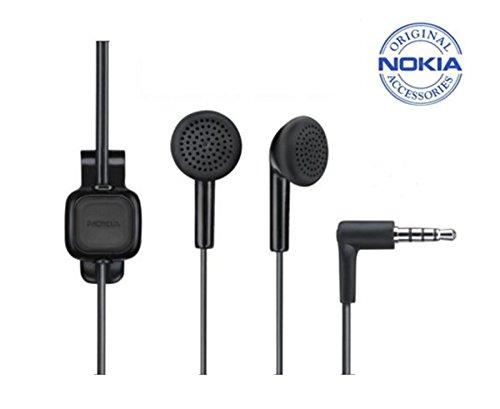 Nokia WH-102 Headset Stereo Verkabelt Schwarz Mobiles Headset