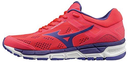Mizuno Synchro MX 2 (w), Zapatillas de Running para Mujer, Rosa (Diva Pink/Liberty/White), 42 EU