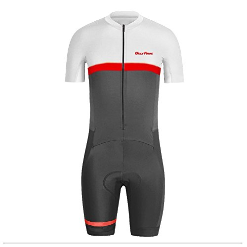 Uglyfrog DXSZ10 Nouveaux Hommes Respirant été Manches Courtes vélos Combinaison Cyclisme Skinsuit Vêtements de Sport
