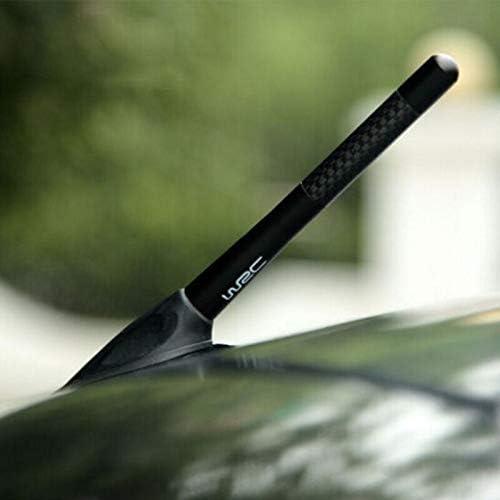 Antena de coche estilo WRC fibra de carbono para Suzuki Jimny The Kizashi Grand Vitara SX4 Vitara Works Baleno Celerio Swift