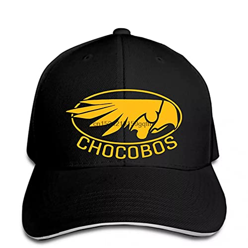 MWLSW Clásico Gorra de béisbol Videojuegos de rol Chocobos Mens Chocobo FFXV FF15 FF7 PS4 Snapback Hat Pico Regalos Deportivos Aire Libre para Amantes del Hip-Hop