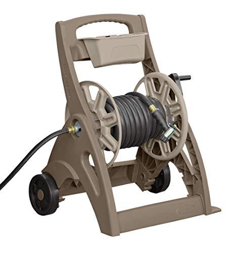 Suncast 225 ft. Hosemobile Pro Garden Hose Reel Cart, Brown/Taupe