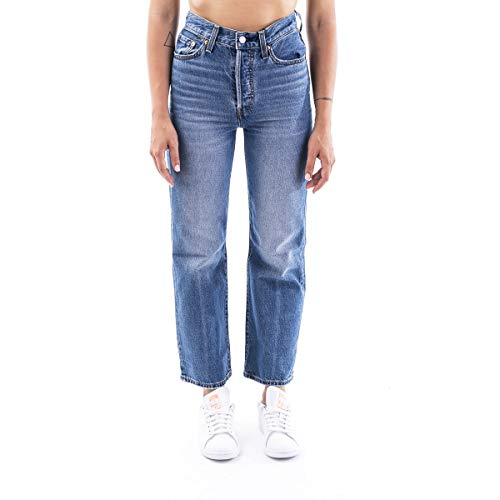 Levi's Ribcage Straight Ankle Womens Jeans 29W x 27L at The Ready