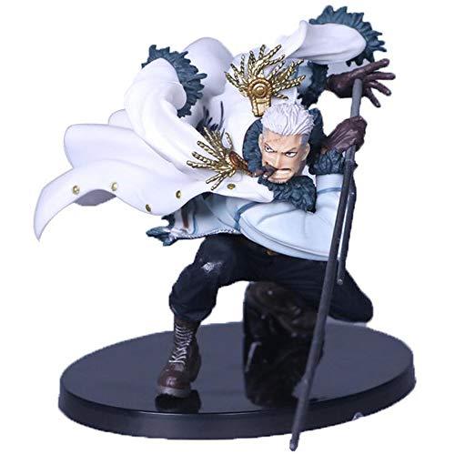 Decoration One Piece Overhead Battle Smoker Anime Charakter PVC Action FigureSammelmodell Spielzeug für Kinder Geschenk A