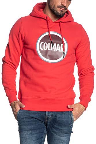 Colmar Felpa con Cappuccio Uomo Originals Rossa