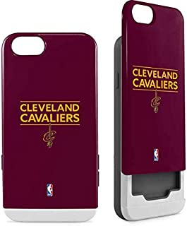 Skinit Wallet Phone Case for iPhone 6/6s - Officially Licensed NBA Cleveland Cavaliers Standard - Maroon Design