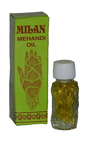 Mehandi Flacon d'huile pour henné 4 ml