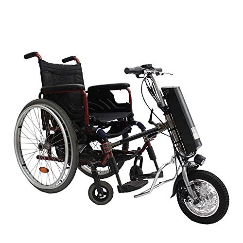 WXDP Autopropulsado 36V 250W Tractor Handcycle Handbike Kits de conversión de Bricolaje con batería de 36V 9Ah 12 Pulgadas