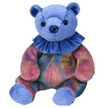 Ty Beanie Baby September Sapphire  Birthstone Teddy Happy Birthday Bear