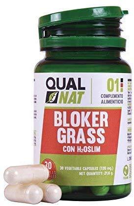 Bloker Grass | Fat-Burner | Suplemento Para Hombres y Mujeres | Termogénico | Blokergrass - 30 cápsulas- Qualnat