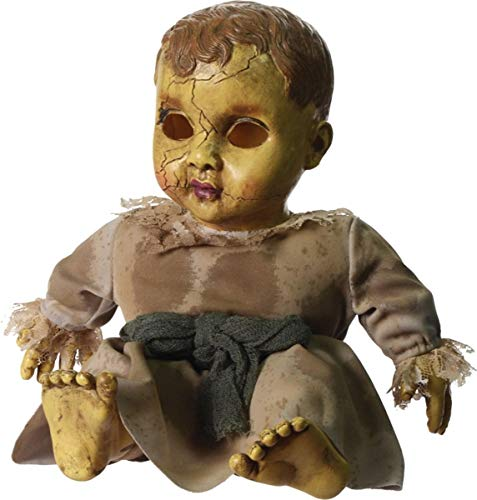 Sound activated Zombie Baby Halloween Props