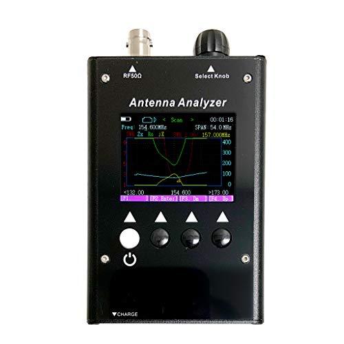 LATNEX ATA-60M 0.5-60MHz SWR Antenna Analyzer Portable Radio Walkie Talkie, CB, Ham and Two Way Radio