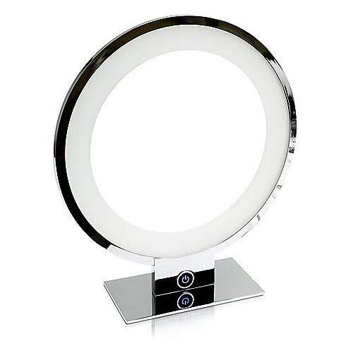 LED Universum Samson LED-Tischleuchte Chrom dimmbar