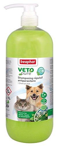 Beaphar - Champú repulsivo antiparasitario, 1 L