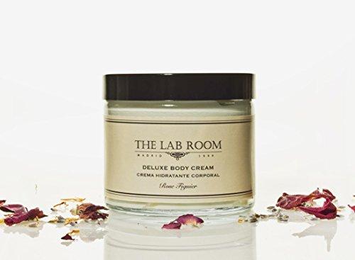 Crème Hydratante Pour le Corps Parfumée The Lab Room Deluxe Body Cream 250ml, Beurre Corporel Raffermissant Antioxydant et Nourrissant, Soin Intensif des Peaux Sèches | Figuier Rose