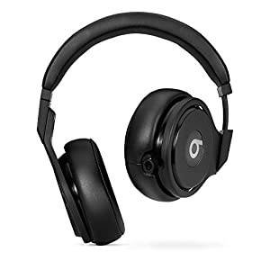 Beats by Dr. Dre Pro Wired Headphones No Bluetooth High Performance Professional Studio Over-Ear Beats Headphones - Black (Renewed)
