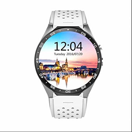Menglantian 3G WiFi Smartwatch Sportuhr Telefon All-In-One Bluetooth Smart Watch Uhr Intelligente Armbanduhr Pulsmesser Fitness Tracker Mit GPS Kamera Google Maps Für Android Und IOS