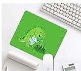 Tappetino Per Mouse Da Gioco, Sfondo A Tinta Unita, Alberelli Di Irrigazione Creativi Per Elefanti E Dinosauri, Gomma Resistente, Tappetino Per Mouse Da Gioco Per Ufficio