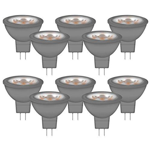 NEOLUX LED MR16 / LED-Reflektorlampe mit GU5.3-Sockel / Nicht Dimmbar / Ersetzt 20 Watt / 36° Ausstrahlungswinkel / Warmweiß - 2700 Kelvin / 10er-Pack