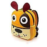 Mochilas Guarderia Pequeños Para Niños y Niñas, AOBETAK Cute 3d Animales Design Bolsos Escolares ,Presente y Regalos Mochila Merienda para Niños Bebe Infantiles 2-7 años
