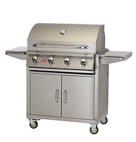 Hot Sale Bull Outdoor Products 87001 Lonestar Select Liquid Propane Grill on Cart