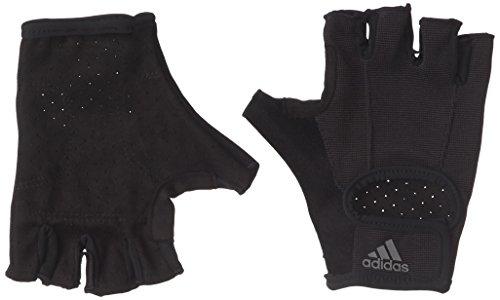 adidas Erwachsene Versatile Climalite Handschuh, Black/Iron Metallic, L