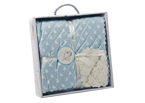 Gamberritos 10000a - Manta, 80 x 100 cm, color azul