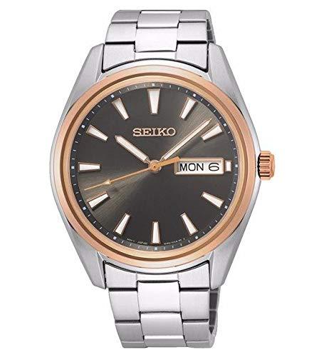 Seiko SUR344P1 - Reloj de pulsera para hombre, de acero clásico