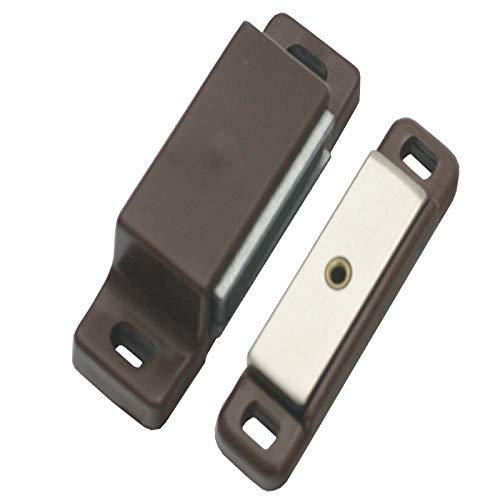Magneetsluiting Snapper kast deur meubels caravan camper boot bruin 4-5 kg
