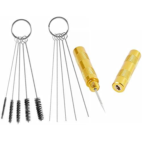 ABEST 3 Set Airbrush Spray Cleaning Repair Tool Kit Stainless steel...