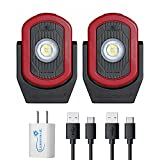 MAXXEON Cyclops Rechargeable Work Light LED Bundle with USB Wall Adapter