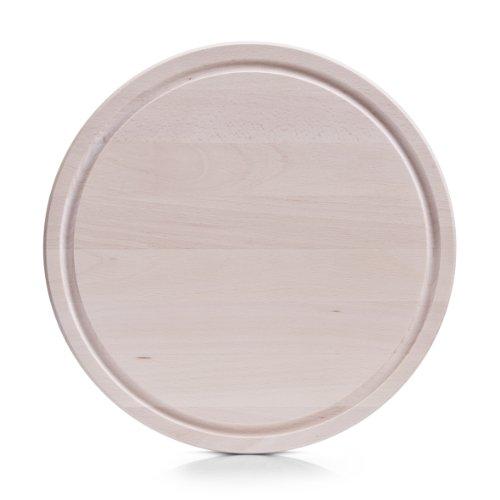 Zeller 22710 - Tagliere in legno di faggio, ø 31, spessore 1,5 cm