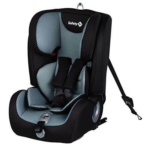 Safety 1st Ever Fix Siège Auto pour Enfant Evolutif Groupe 1/2/3 Isofix 15 Mois à 10/12 Ans Pixel Grey 9-36 kg 8514842000