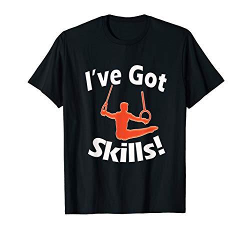 Funny Boys Gymnastics I've Got Skills Gift T-Shirt