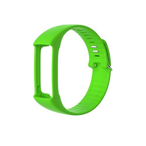 Polar 91057474 - Correa para pulsómetro A360, unisex, color verde, talla M