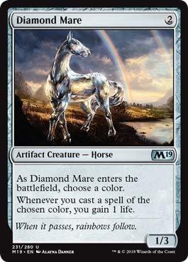 Magic: The Gathering - Diamond Mare - Core Set 2019