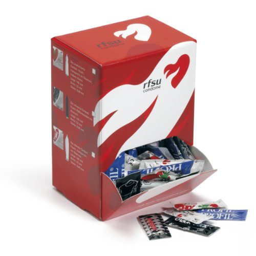 RFSU Tight (Mamba) 100 enge Kondome, 49mm nominale Breite, Bigbox