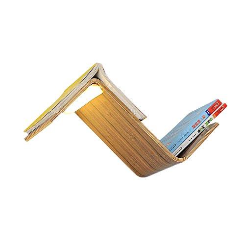 Kezeer Nordeuropa Moderne Multifunktions Bücherregal Form Holz Wandleuchte Lesen Wandleuchte Kreative Schlafzimmer Nacht Hintergrund Wand Minimalismus Wandleuchte