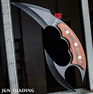 JGN Trading Karambit Knives Scorpion Knives CSGO Three Edged Tactical Strike Knife Military Defensive Claw Combat Hunting Knifes Unique Design