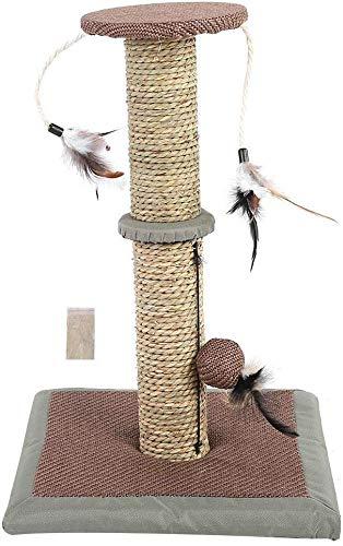 Unbekannt Pet Supplies Katzenbaum für den täglichen Gebrauch, mit Federball und Sisalseil zum Klettern und Kauen