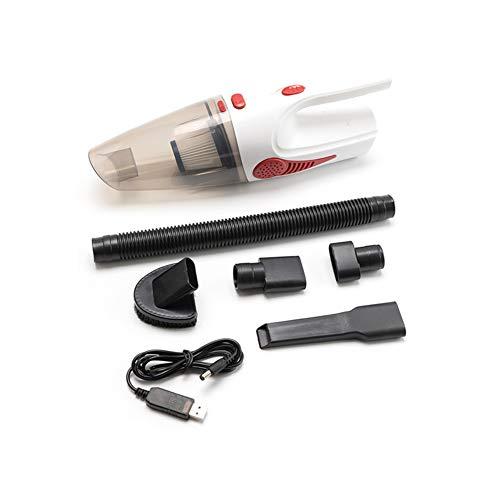 Z&LEI Aspirador de automóviles, portátil portátil inalámbrico/tapón de automóvil 120W 12V 5000PA Super Succión Mojado/seco Limpiador de vacío para Autos Inicio,02