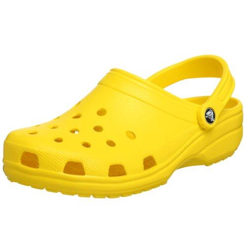 Crocs Classic Clog, Sabots Mixte Adulte, Jaune (Yellow), 39/40 EU