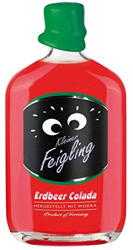 Kleiner Feigling | Erdbeer Colada | 3 x 500ml | Marken-Spirituose | Premium Likör | Feiern mit Fantasie | Der Party – Shot
