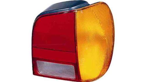 PILOT achter rechts VW POLO III (94->99) zonder lamphouder barnsteen rood