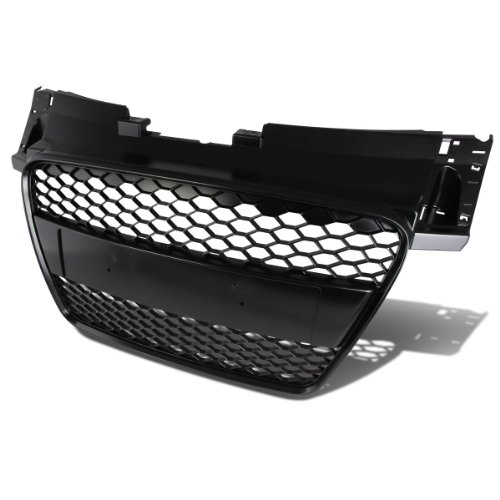 For Audi TT ABS Plastic RS Honeycomb Mesh Style Front Grille (Black) - Typ 8J Mk2 Pre-Facelift
