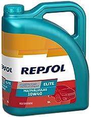 REPSOL Elite Multiválvulas 10W-40 Aceite De Motor Para Coche, 5l