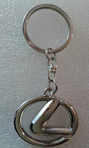 Llavero de metal compatible con Lexus lla001-2